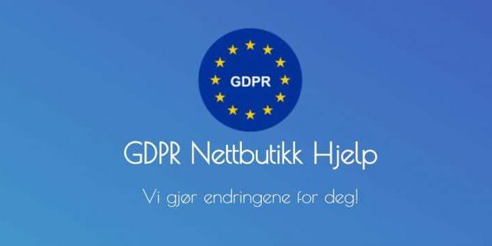 GDPR Nettbutikk Hjelp